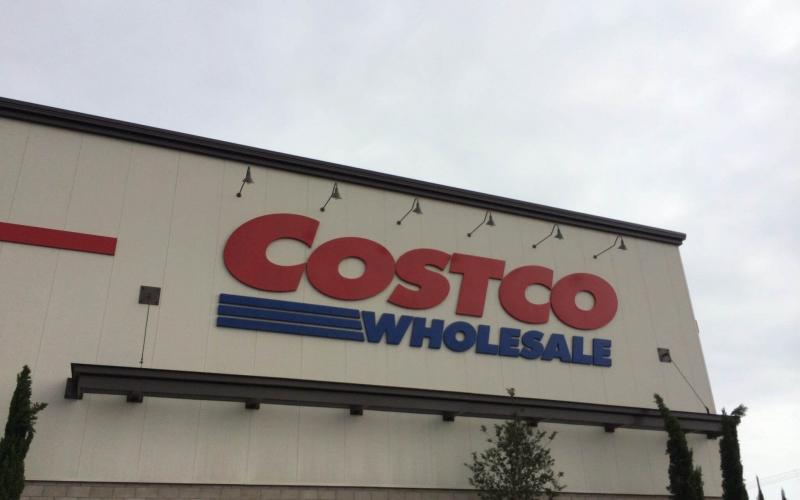Costco wholesale store in California