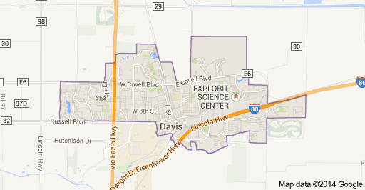 Davis Map