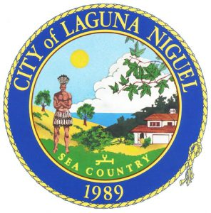 Official logo of Laguna Niguel
