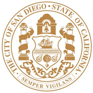 Official Logo of San Diego City in California