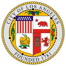 Official Seal of Los Angeles City in California