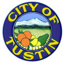 Official Seal of Tustin City in California