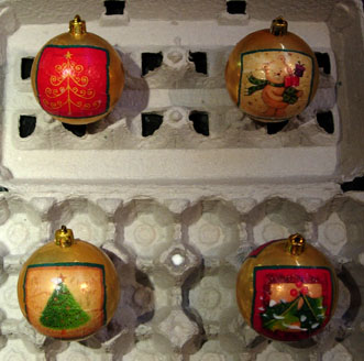 Keep ornaments safe in holiday storage