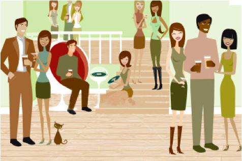 throw a housewarming party to meet neighbors