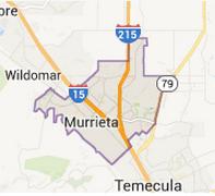 Murrieta, CA - Area Map