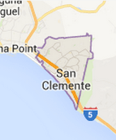 San Clemente, CA - Area Map