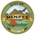 Seal of Menifee City in California