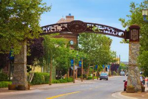 Temecula, CA - Old town entrance