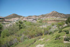 Murrieta view of hills