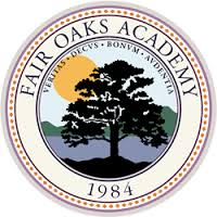 Seal of Fair Oaks Academy since 1984