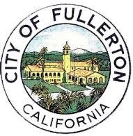 Logo of Fullerton City Seal in California
