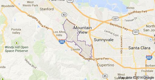 Los Altos Map