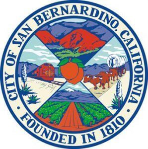 Official Seal of San Bernadino City in California
