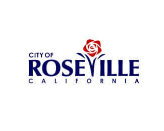 Seal of Roseville City in California