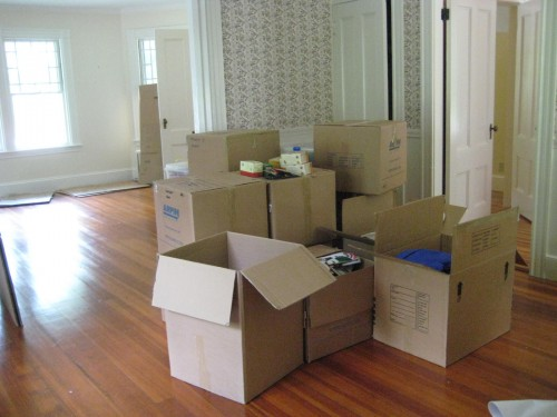 Professional moving service in California