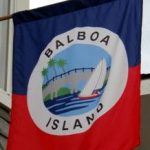 Flag of Balboa Island in California
