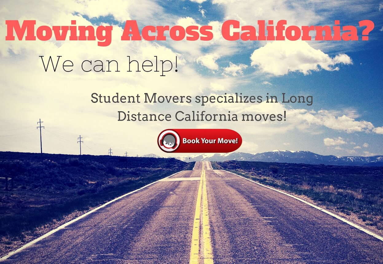 -Long distance movers California