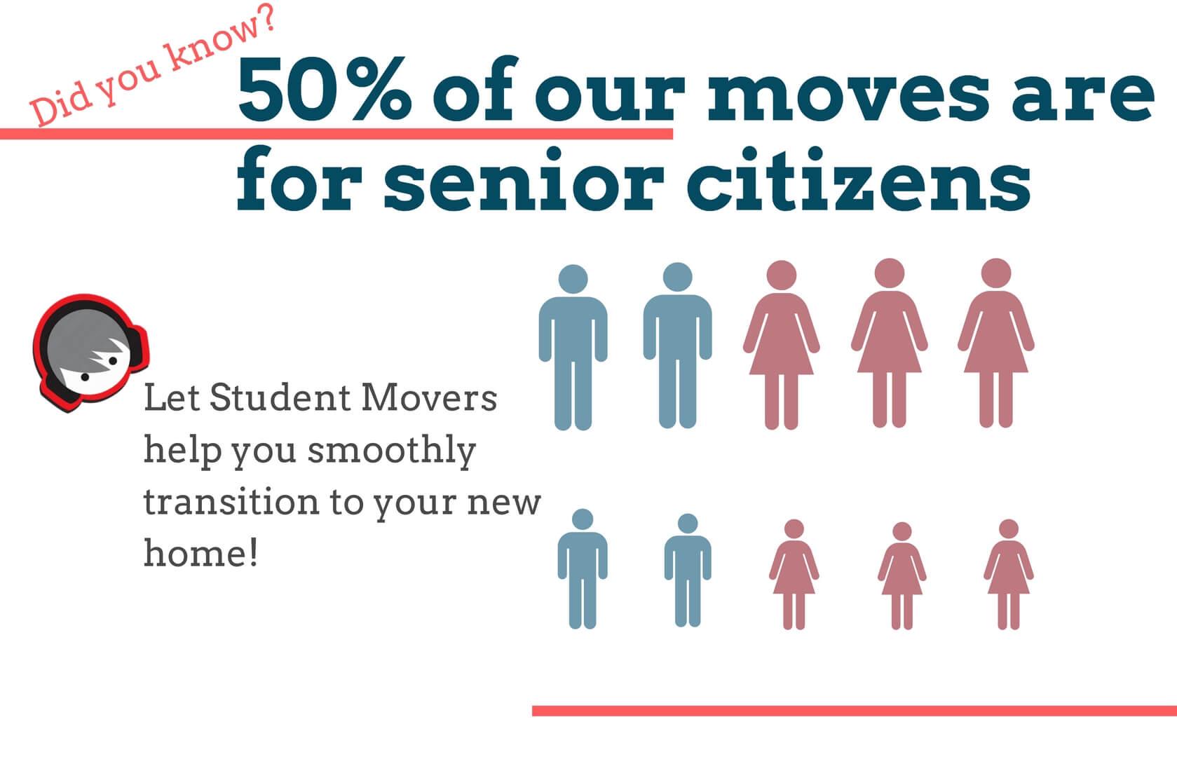 moving service for senior citizen