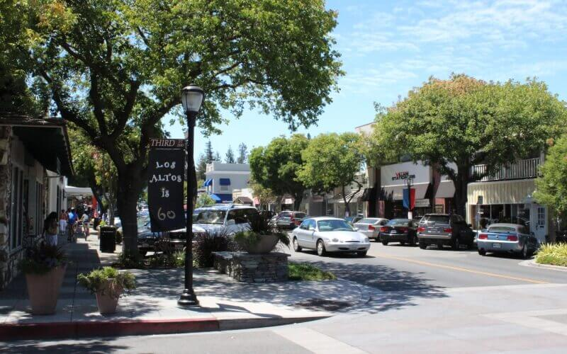 The Third Street in Los Altos is a best place to move in