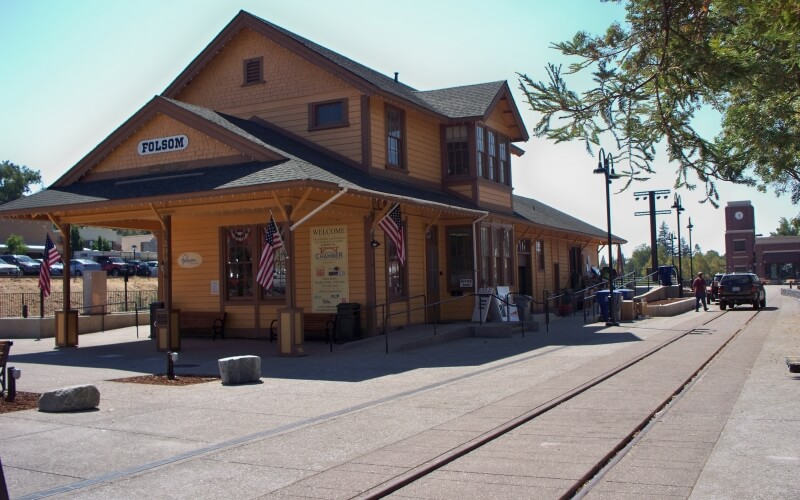 Old Depot in Folsom in California