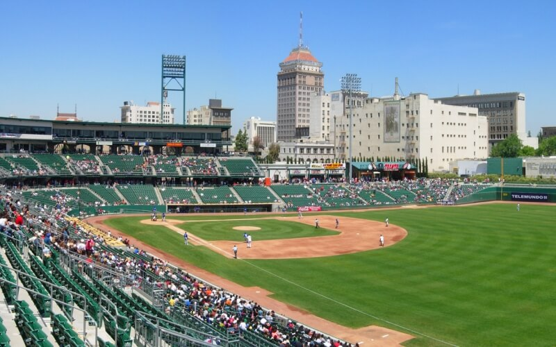 Chukchansi Baseball Park in Fresno