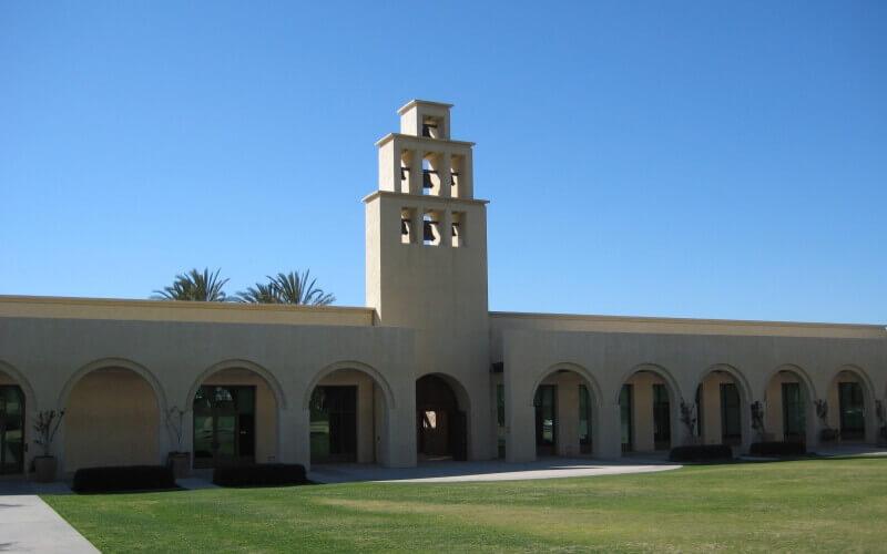 Front side of Rancho Santa Margarita City Hall