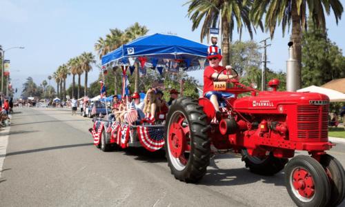 Corona moving company parade